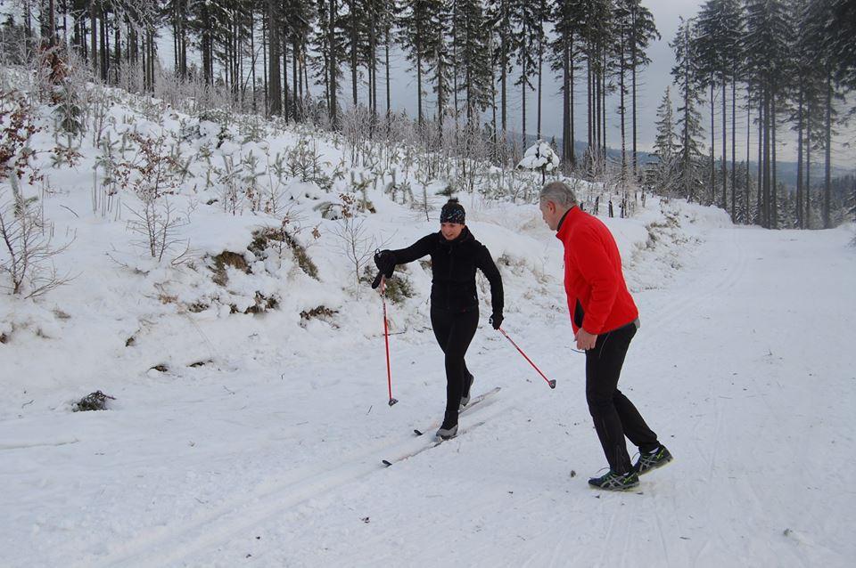 narciarstwo biegowe w Istebnej