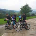 wycieczka rowerowa na obozie boot camp