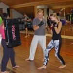 boks - treningi na wyjeździe integracyjnycm boot camp