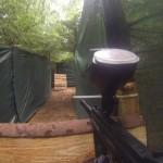 pojemnik z kulkami w labiryncie