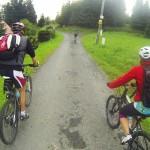 W górach na wycieczce rowerowej