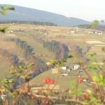 Widok na wzgórza w Istebnej
