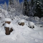 Istebna - zima i śnieg w górach