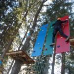Base Camp - park linowy - trasa śrdnia