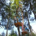 park linowy - zabawa dla całej rodziny w Base Camp
