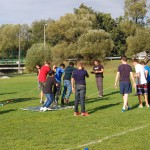 Wycieczka szkolna - rywalizacja w Base Camp