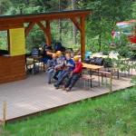 Zajęcia w parku linowym w Istebnej