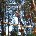 Park linowy w Istebnej - trasa łatwa