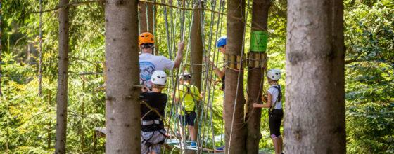 Pierwsza wizyta w parku linowym – co warto wiedzieć, jak się przygotować?