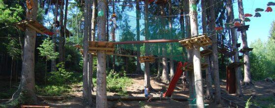 Park linowy a bezpieczeństwo dziecka. Jak przygotować dziecko na zabawę w parku linowym?